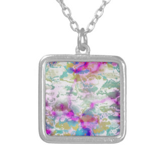 colors and vibes 1 silver plated necklace