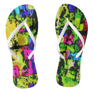 colors and vibes 3 flip flops