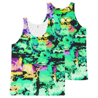 colors and vibes 4 All-Over-Print tank top