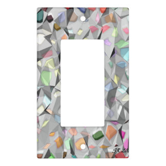 Colors Creased light switch cover single rocker
