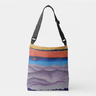 Colors from Above Crossbody Bag