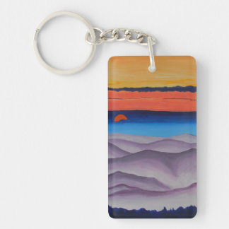 Colors from Above Keychain