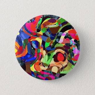 Colors mashup 2 inch round button