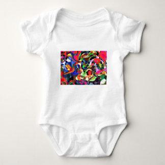 Colors mashup baby bodysuit