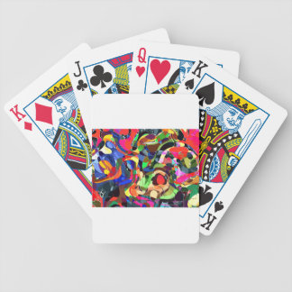 Colors mashup bicycle playing cards