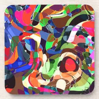 Colors mashup coaster
