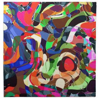 Colors mashup napkin
