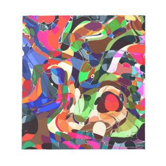Colors mashup notepad