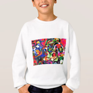 Colors mashup sweatshirt