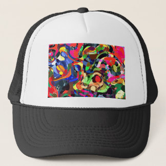 Colors mashup trucker hat
