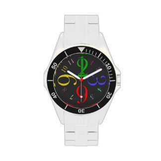 Colors Number Wristwatch