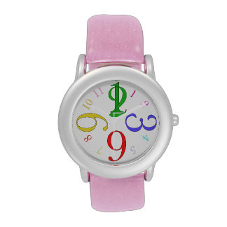 Colors Number Wristwatches