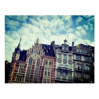 Colors of Belgium Postcard
