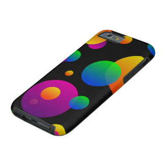 Colors of Bubbles Tough iPhone 6 Case