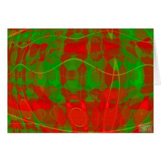 Colors of Christmas II Card