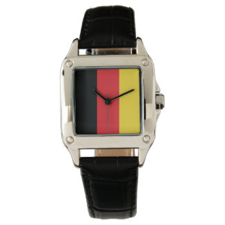 Colors of Germany Flag. Watch