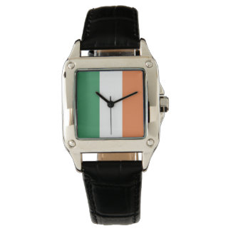 Colors of Ireland Flag. Wrist Watches