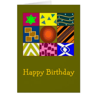 """""""Colors of Life"""" bday card"""