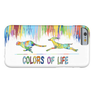 Colors of Life Splash Shape Antelope Cheetah Barely There iPhone 6 Case