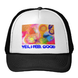 Colors of life, Yes, I feel good Trucker Hat