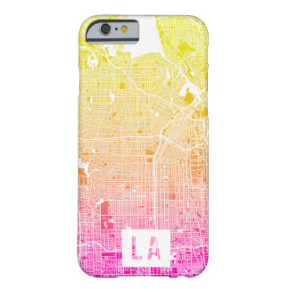 Colors of Los Angeles Map Barely There iPhone 6 Case