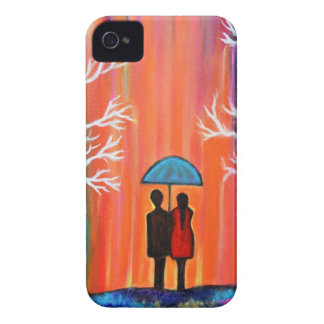 Colors of Love colorful romantic painting giftart iPhone 4 Case-Mate Case