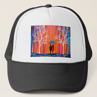 Colors of Love colorful romantic painting giftart Trucker Hat