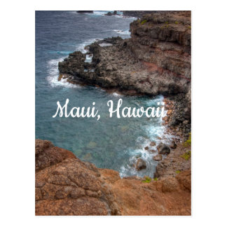 Colors of Maui, Hawaii Postcard