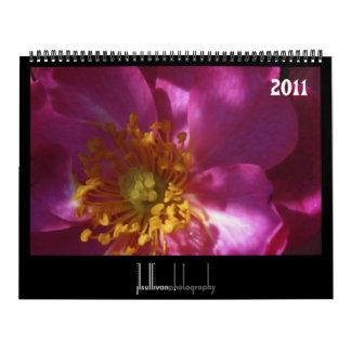 colors of nature 2011 calendar