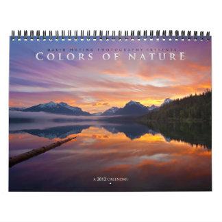 """Colors of Nature"" 2012 Wall Calendar"