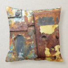 Colors OF Rust/kind of rust Throw Pillow