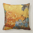 Colors OF Rust Ro2.0, kind of rust Throw Pillow