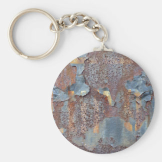 Colors of Rust/Rust-Art Basic Round Button Keychain