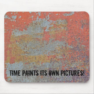 Colors of Rust / Rust-Art / Metal 01.2.T Mouse Pad