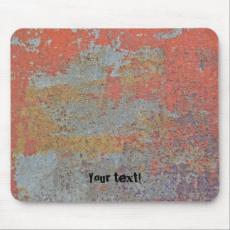 Colors of Rust / Rust-Art / Metal 01.T Mouse Pad