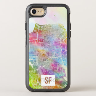 Colors of San Francisco Map OtterBox Symmetry iPhone 7 Case