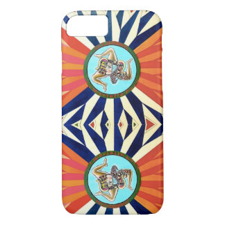 Colors of Sicily flag case