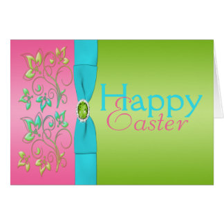 Colors of Spring Easter Card