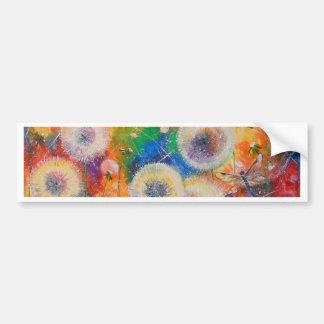 Colors of summer bumper sticker