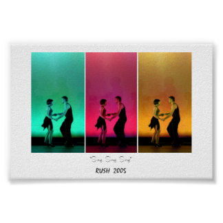 Colors of Swing Poster