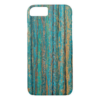 Colors of Teal Abstract Art iPhone Case