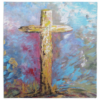 Colors of the Cross Napkin