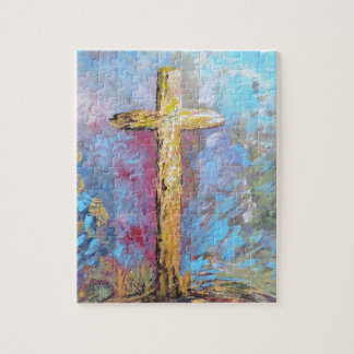 Colors of the Cross Puzzle