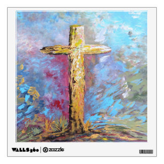 Colors of the Cross Wall Sticker