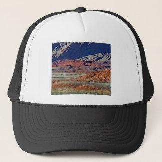 colors of the desert trucker hat