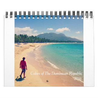 Colors of The Dominican Republic Wall Calendars