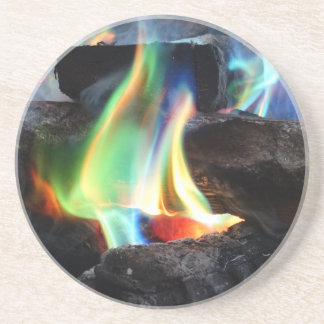 Colors of the Flame Drink Coasters