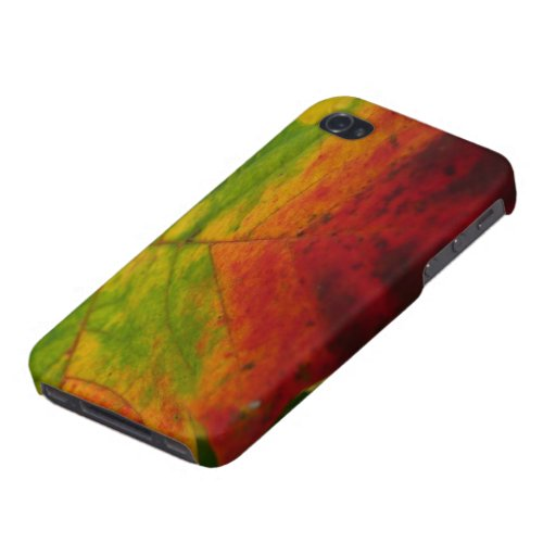 Colors of the Maple Leaf iPhone 4 Case