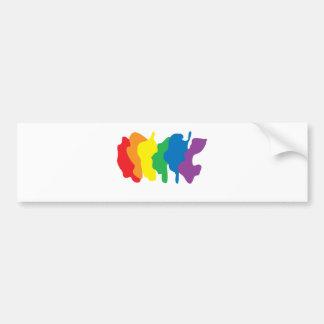 Colors of the Rainbow - Pride Bumper Sticker