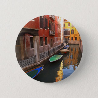 Colors of Venice, Italy 2 Inch Round Button